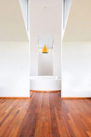 salle de bains - House in Futrono par Cristián Izquierdo Lehmann - Chili