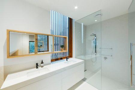 salle de bains - Invermar House par Moloney Architects - Ballarat, Australie