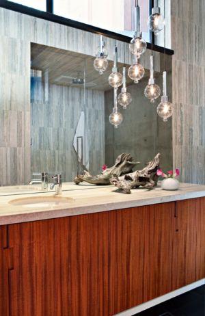 salle de bains - La Cañada Residence par Jamie Bush & Co. - Sierra Madre, Usa