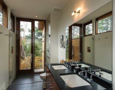salle de bains - Long Dune Residence par Hammer Architects - Truro, Usa