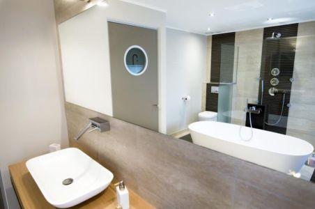 salle de bains - Maison S par Thierry Noben - Nospelt Luxembourg