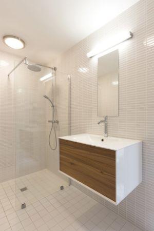 salle de bains - Maison Simon par Bonnefous architectes - Vezet (70), France