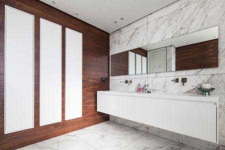 salle de bains - Maison contemporaine béton par Ron Aviv - Tel Aviv, Israël