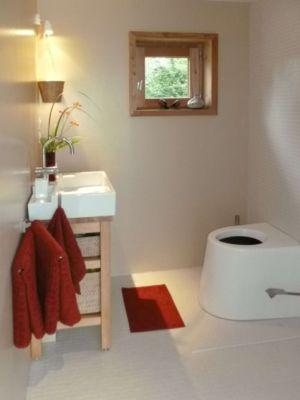 salle de bains - Maison dans la prairie par Arba - Montreuil, France