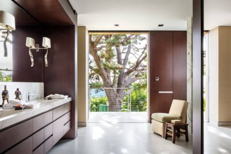 salle de bains - Malibu Crest par Studio Bracket - Malibu, Usa
