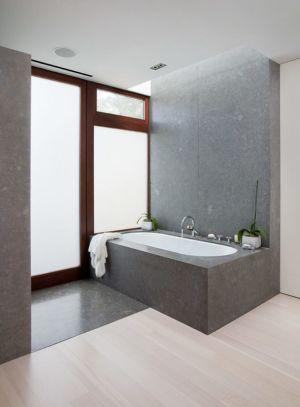 salle de bains - Malibu House par Dutton Architects - Usa