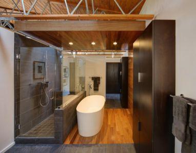salle de bains - Midvale Courtyard House par Bruns Architecture - Madison, Usa