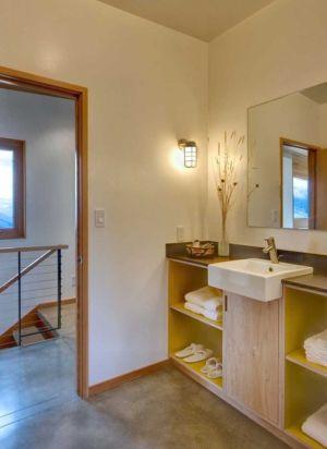 salle de bains - Nahahum Canyon House par Balance Associates - Nahahum Canyon, Usa