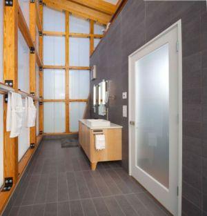 salle de bains - Pond-House par Holly-Smith-&-Architectes - Louisiane, USA