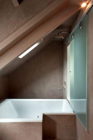 salle de bains - Rénovation Maison V - Olivier Chabaud Architecte - France