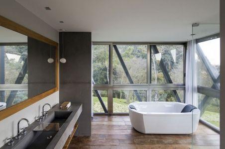 salle de bains - Résidense JG by MPG-Arquitectura, Rio de Janeiro, Brésil