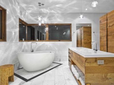 salle de bains - RiverBanks par Foz Design - Saugerties, Usa