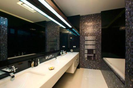 salle de bains - S-House par Fourth Dimension - Moscou, Russie