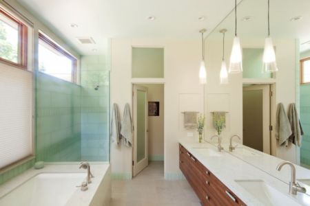 salle de bains - Skyline Residence par Nathan Good Architects - Portland, Usa
