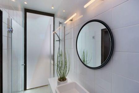 salle de bains - Stone-House par Henkin Shavit Architecture & Design - Safed, Israël