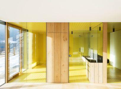 salle de bains - Structure-Slope par Bergmeister Wolf Architekten - Bozen, Italie