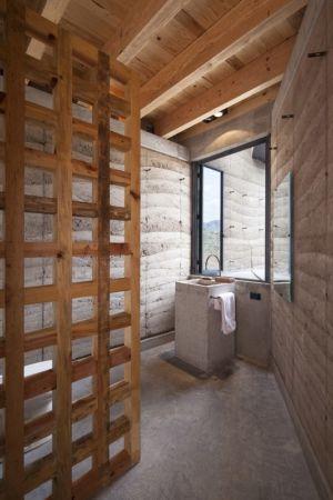 salle de bains  - The Cave in Pilares par Greenfield - Coahuila, Mexique