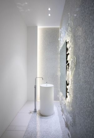 salle de bains - The Groveland House par Mcleod Bovell - Vancouver, Canada