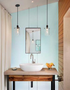salle de bains - The Hog Pen Creek Residence par LakeFlato - Austin, Usa