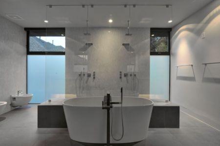 salle de bains - Underwood House par StudioMET - Houston, Usa