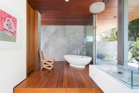 salle de bains - Vidalakis-Residence par Swatt Miers Architects - Californie, USA