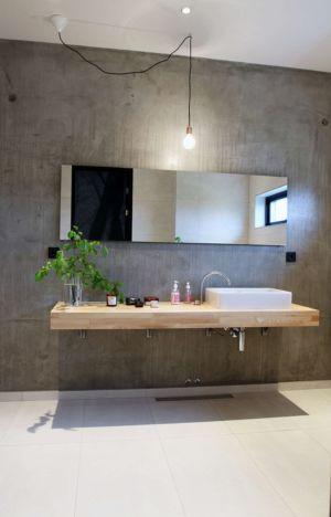 salle de bains - Villa E par Stringdahl Design - Suède