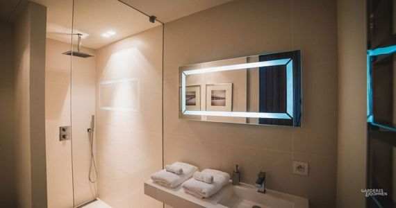 salle de bains - Villa Oasis - maison contemporaine en location - Biarritz, France