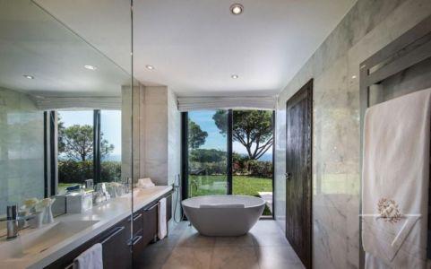 salle de bains - Villa -France
