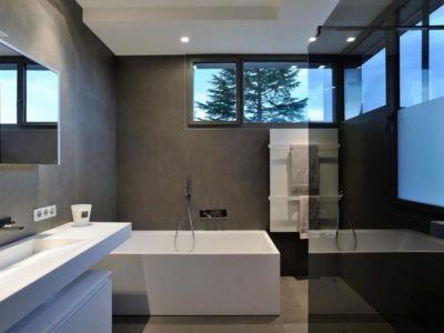 salle de bains - Villa Wa par Laurent GUILLAUD - France