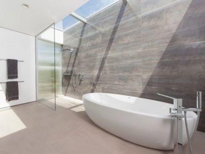 salle de bains - Vineyards-Residence par Swatt Miers Architects - Californie, USA