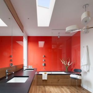 salle de bains - Watch-Hill-House par Lubrano Ciavarra - New York, USA