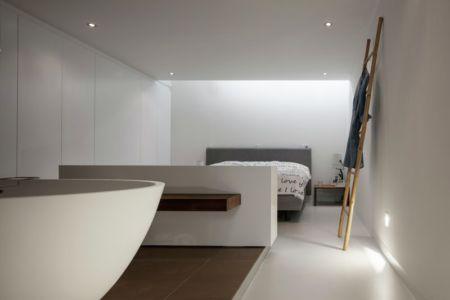 salle de bains - Watervilla par +31ARCHITECTS - Amsterdam, Pays-Bas