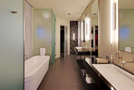salle de bains - West Bellevue House - Washington, USA