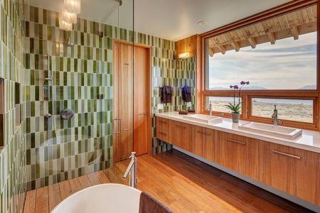 salle de bains - Wolf Creek Ranch par S+D Architects - Utah, Usa