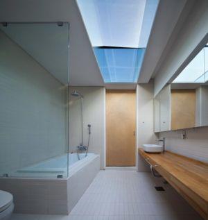 salle de bains - Woljam-ri House par JMY architects - Gyeongsangnam-do, Corée du Sud
