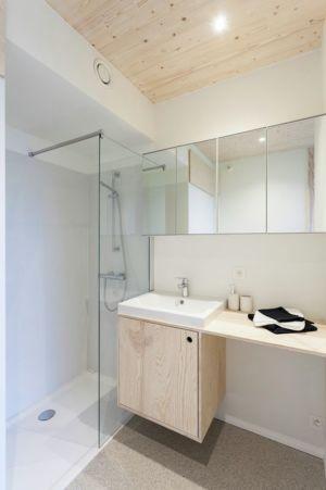salle de bains - Zero-Energy par Skilpod - Belgique
