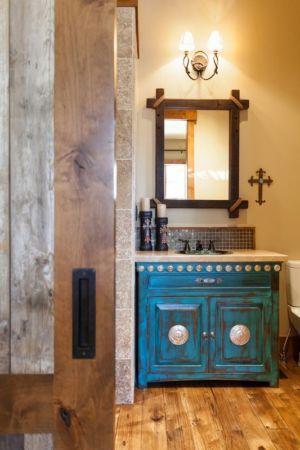 salle de bains - chalet de luxe par Walton Architecture - Martis Camp, Usa