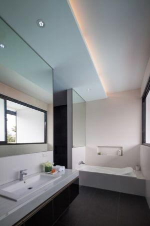 salle de bains - d-s-house par DP+HS architects - jakarta, Indonesie