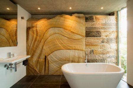 salle de bains - edge house par Steele Associates - Australie
