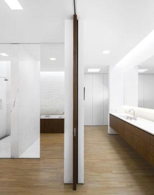 salle de bains et lavabo - Tetris House par Studio mk27 - São Paulo, Brésil