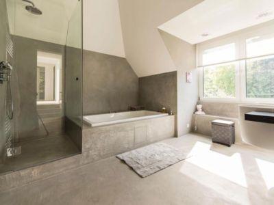 salle de bains - magnifique propriété à vendre à Uccle en Belgique