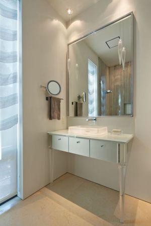 salle de bains - maison exclusive par Polsky Perlstein Architectes - San Francisco, USA