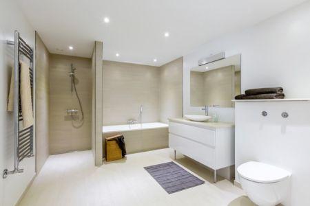 salle de bains - maison exclusive par Skanlux - Danemark
