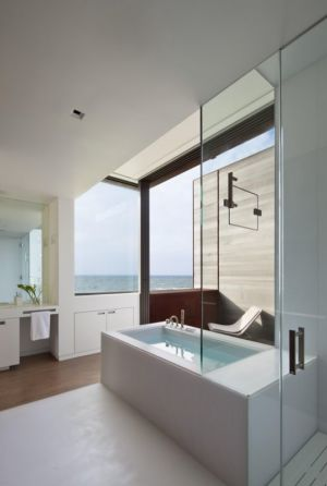 salle de bains - sagaponack par Bates Masi Architects - Sagaponack, USA