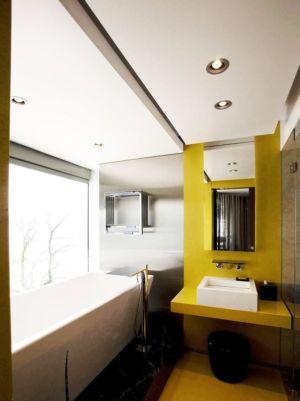 salle de bains - villa afro-européenne par Saota - Genève, Suisse