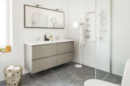 salle de bains - villa-vallmo par Thomas Sandell - Skaraborg, Suède