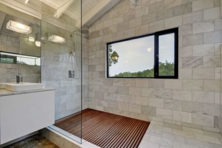 salle de bains - westlake-home par Capstone Custom Homes - Westlake, USA