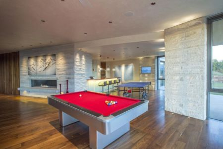 salle de billard - home-Colorado par Bill Poss - Colorado, USA