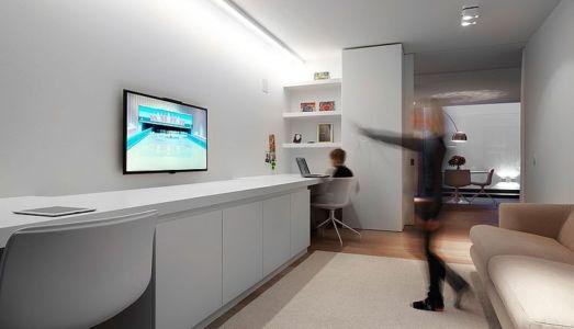 salle de jeux - HS Residence par Cubyc Architects - Bruges, Belgique