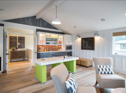 salle de jeux - Maison typique par TTM Development company - Portland, Usa